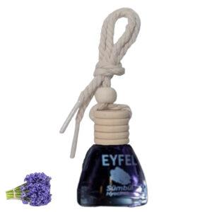 Eyfel parfum odorizant cu snur auto camera zambila