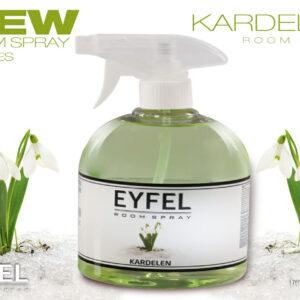 Spray odorizant camera Eyfel 500ml aroma Ghiocel